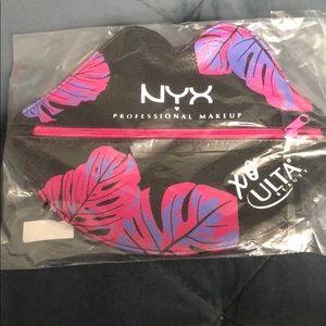 Lip shaped makeup bag